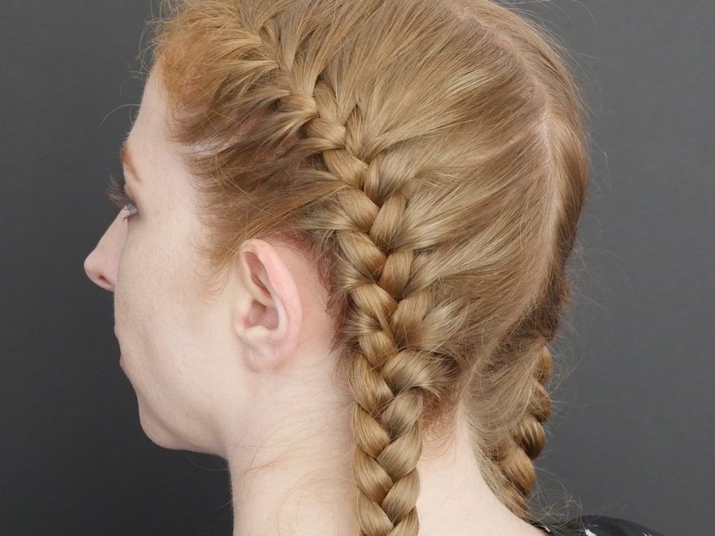 French Braid Basics 4 Steps With Pictures Instructables