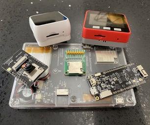 Select SD Interface for ESP32
