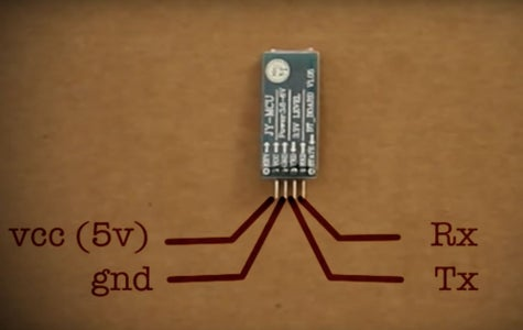 Making the Circuit for Controlling It on Your Phone