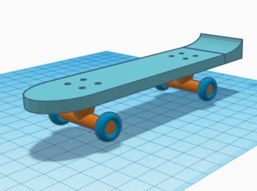 Picture of Mini  Skateboard