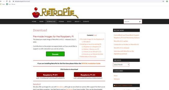 Download RetroPi
