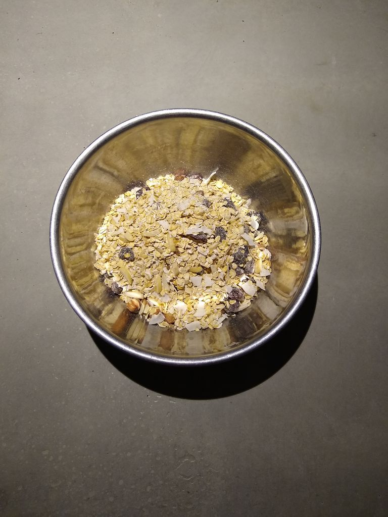 Picture of Baked Oatmeal Dry Ingredients
