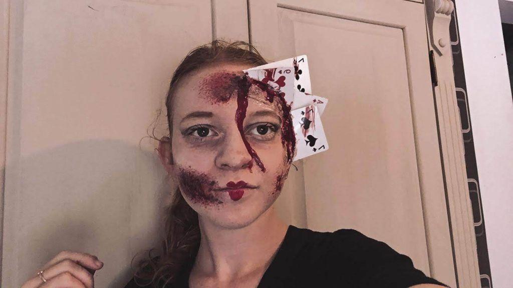 Picture of Alice in Wonderland Horror Make-up