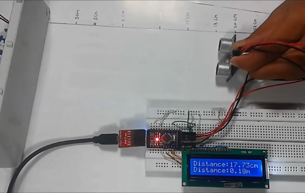 Picture of Measuring Distance in Real Time