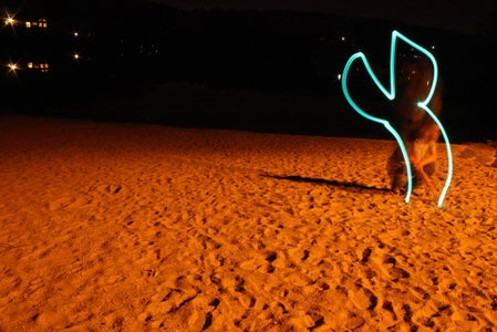 Lightpaint for the Animation
