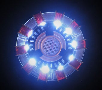 Iron Man Wearable Arc Reactor