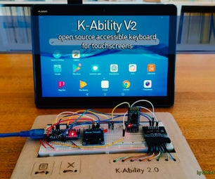 K-Ability V2 - Open Source Accessible Keyboard for Touchscreens