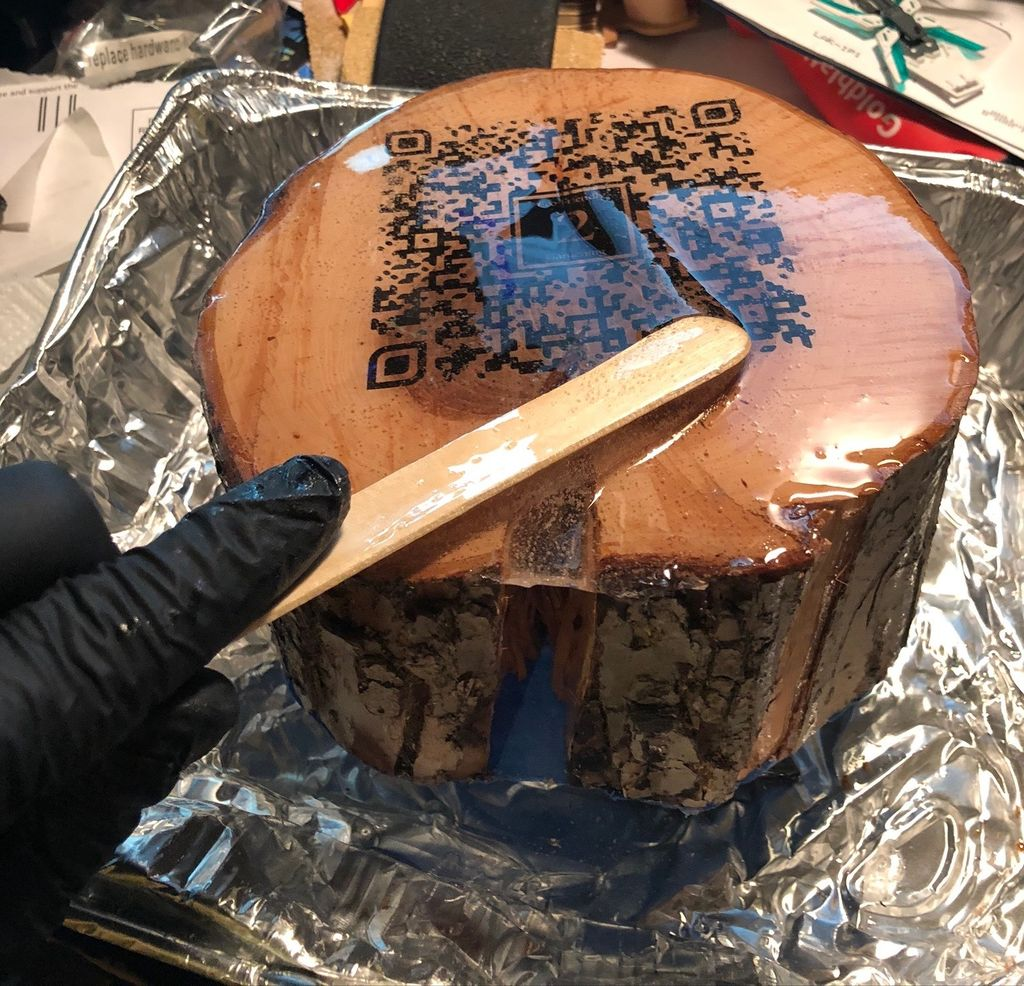 Picture of Pour the Resin