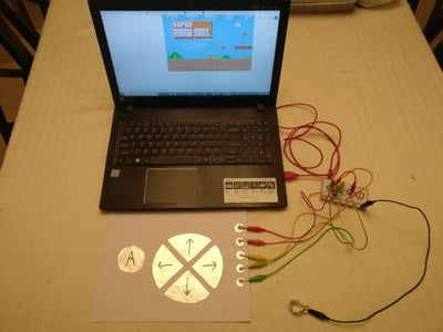 Interactive Paper With Makey Makey