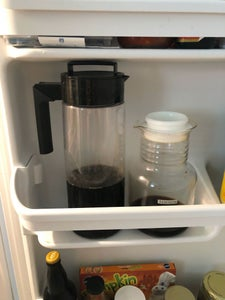 Store Brewed Coffee in the Fridge