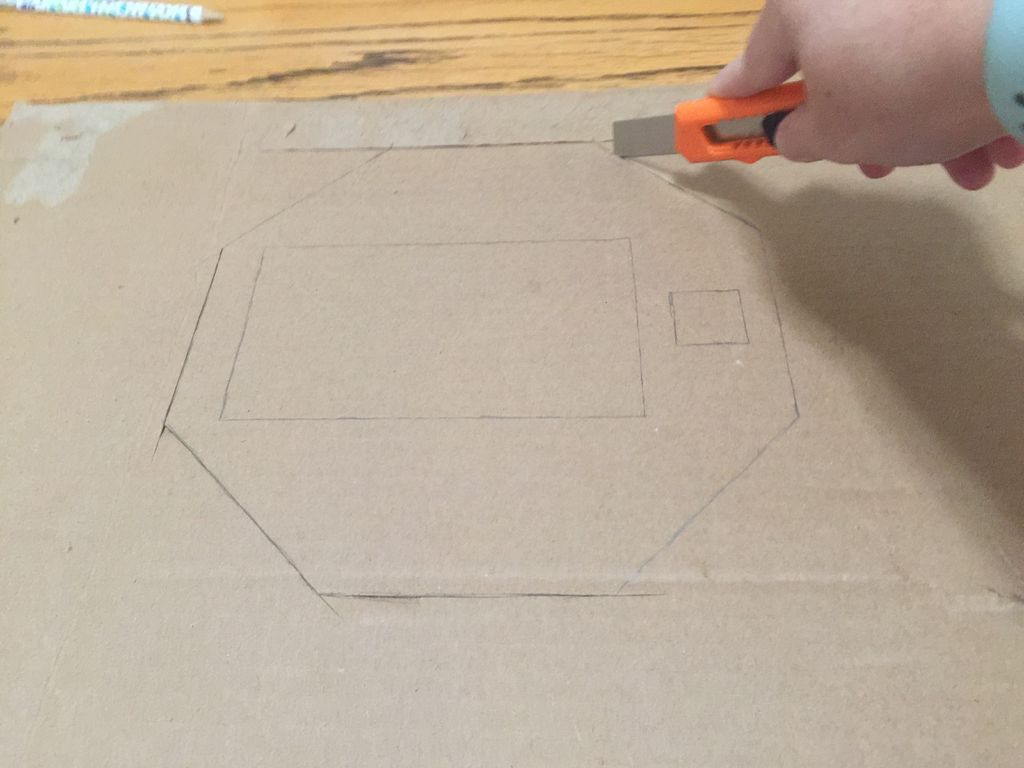 Picture of Cut Out All Cardboard Pieces
