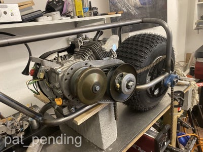 Mount the Engine and Rear Axle