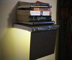 Levitating Bookshelf With Light (Magic Bookshelf)