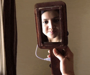 Handheld Smart Mirror (Plug-and-play)