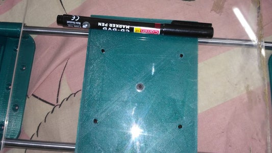ATTACHING THE BUILT PLATE: