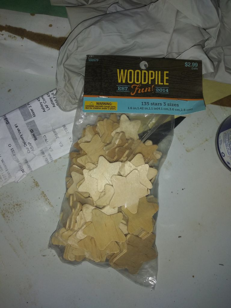Picture of Wood USA Flag
