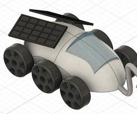 Design a Moon Rover in Fusion 360