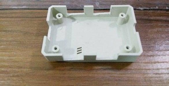 Slotted Plastic Box
