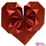 Corazón De Papel Con Pétalos Origami Paso a Paso Con Fotos Y Video