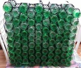 PET Bottle Storing Wall