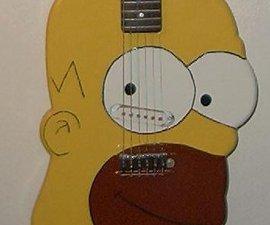 Homer Simpson Guitar