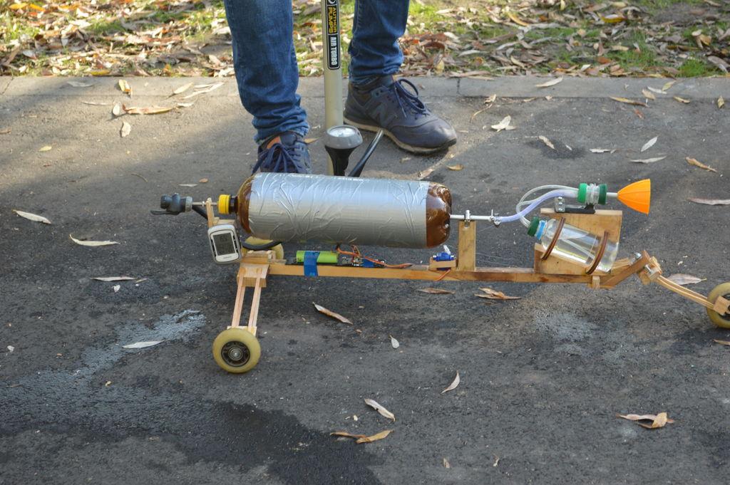 Picture of Marklar 7, New Step in Pnewmohudralic Jet Machines
