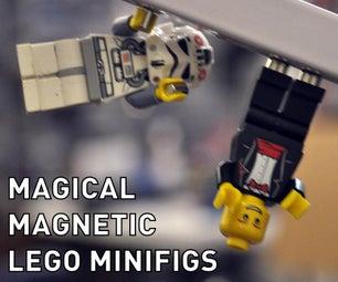 Magic Magnet LEGO Minifigs