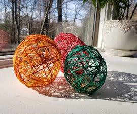 Spring String Eggs
