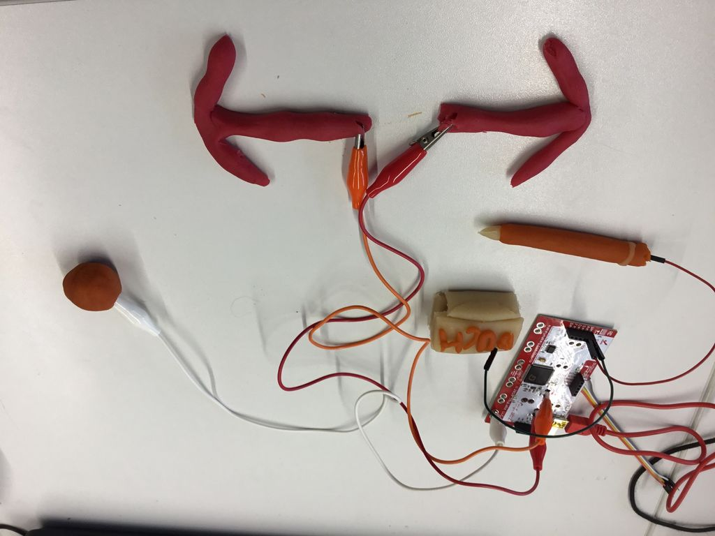 Modelling and Coding With Makey Makey and Scratch
