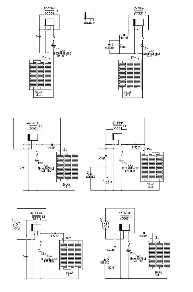 Simple Solar Circuits : 11 Steps (with Pictures