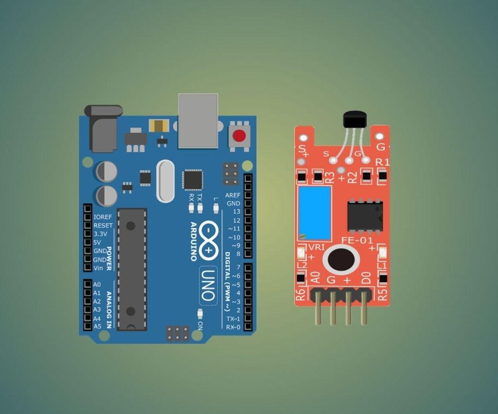 Arduino Magnetic Hall Sensor Tutorial