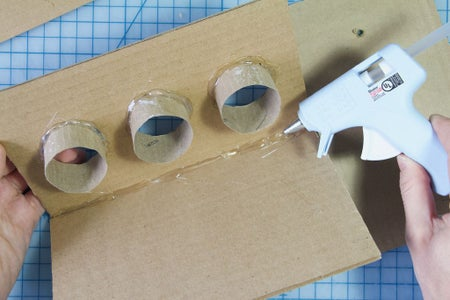 Build the Box: Glue the Front of the Box