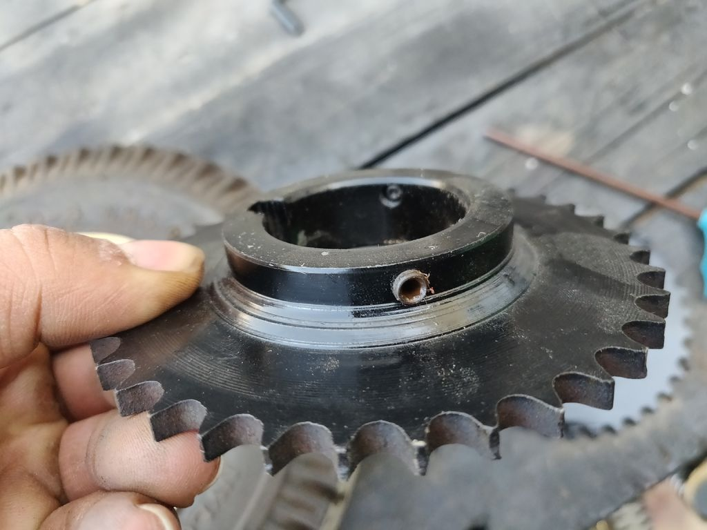 Picture of  Adding Gears and Chain