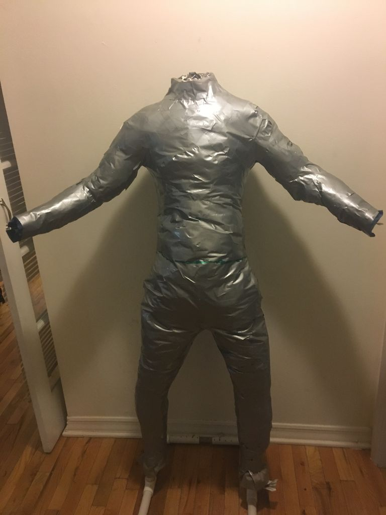 Picture of Duct Tape Mannequin (Optional)