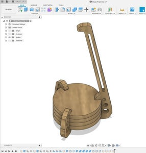 Design the Model in CAD