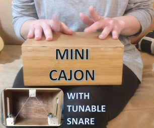 Mini Cajon With Tunable Snare!