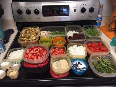 One Week Meal Prep While Working and Raising 3 Under 5