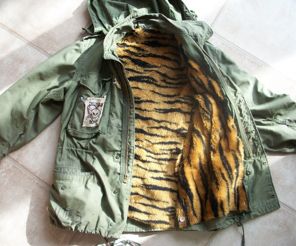 Removable winter jacket liner
