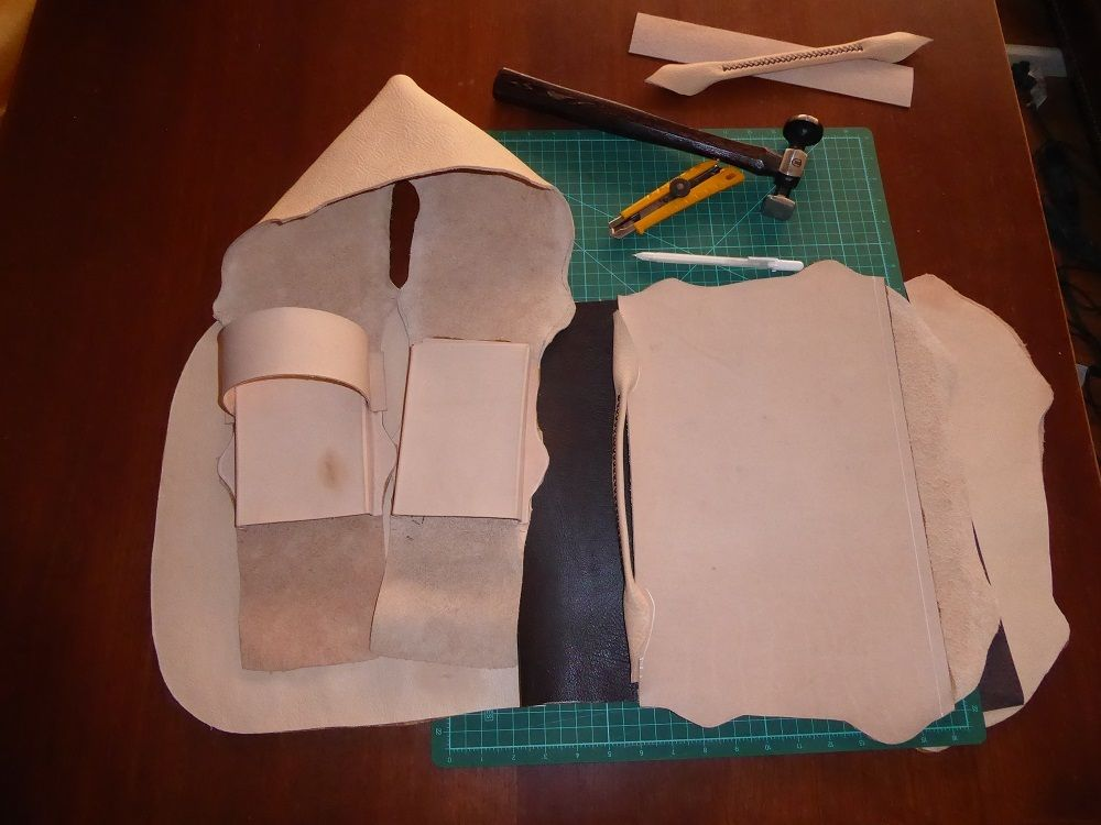 Picture of Pre-stitching Pockets