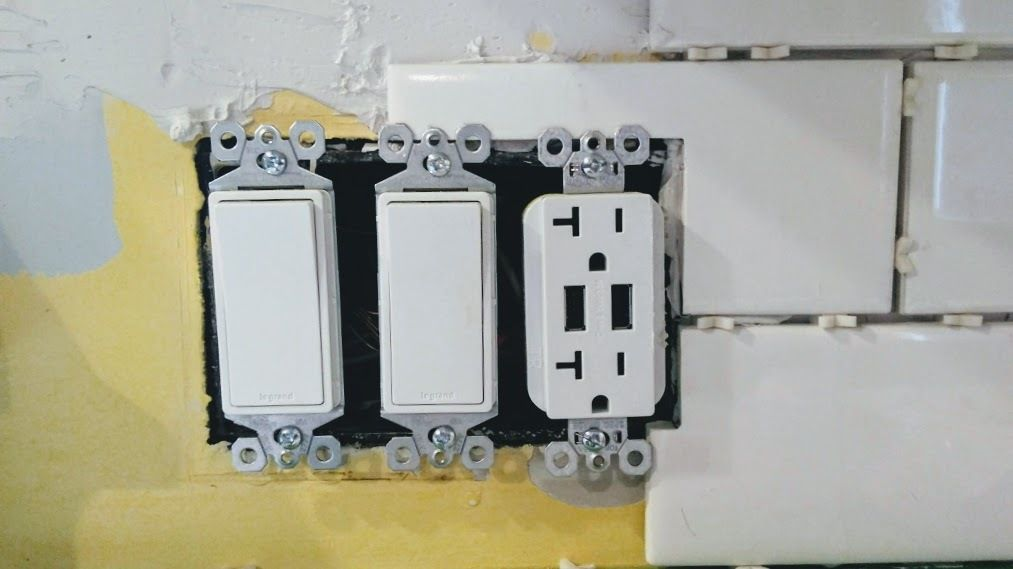 Picture of Install - Receptacles