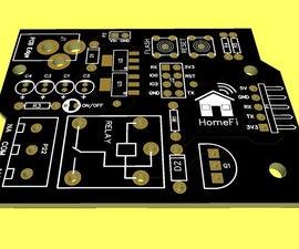 HomeFi - Wifi Printed Circuit Board