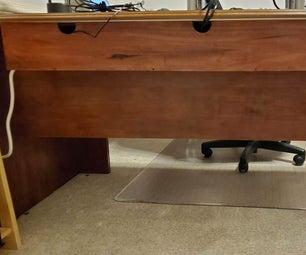 Cable Management Shelf