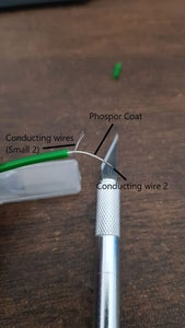 Making Your EL Wire Ready to Be Soldered