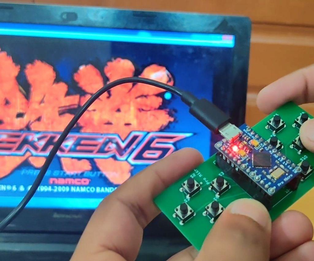 Arduino Based DIY Game Controller