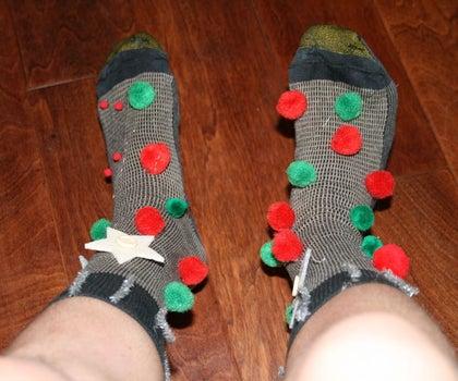 Ugly Christmas Socks.