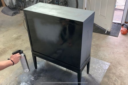 Paint the Cabinet and Doors