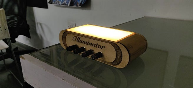 Illuminator - a Key Holder for Your Home