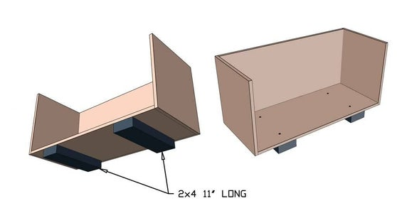 Attach Box Supports