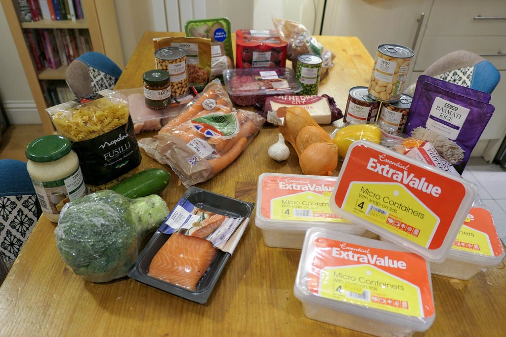 Picture of Organise Your Ingredients by Meals