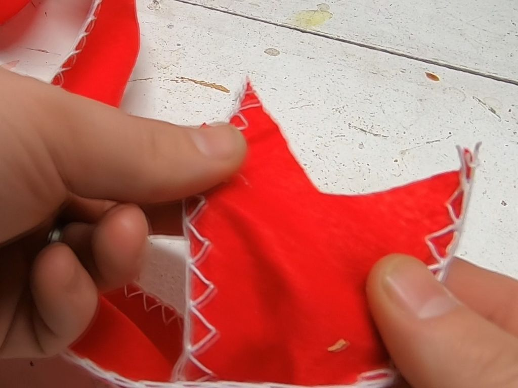 Picture of Making the Bow - Part 6 - Cutting the Notches